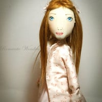 Grace Handmade OOAK doll example of my work by romanticwonders
