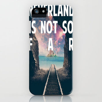 Take Me To Neverland iPhone Case by Christa :)