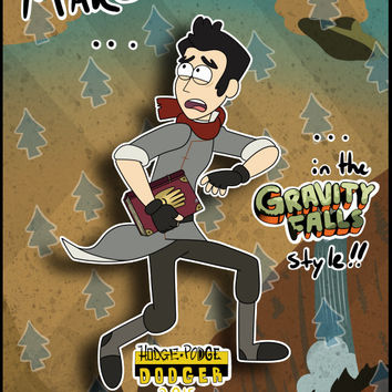 Yourself in the Gravity Falls style! drawing personalized custom gift christmas birthday cartoon art commission cute cool unique awesome wow