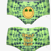 Smile High Club Weed Panties