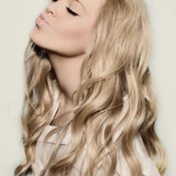 """22"""" Ash Blonde Clip In Hair Extension"""