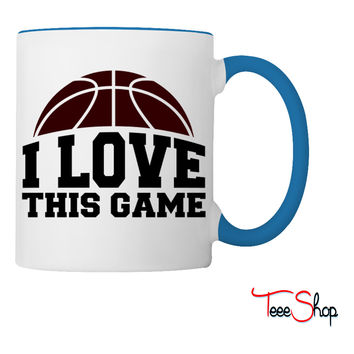 I LOVE THIS GAME Coffee & Tea Mug