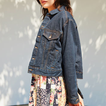 BDG Boyfriend Denim Trucker Jacket | Urban Outfitters