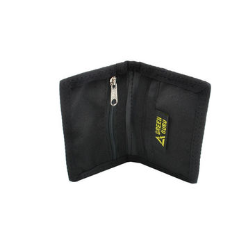 Recycled Bike Tube ID Bi-Fold Zip Wallet