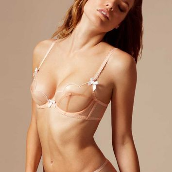 Lorna Bra Nude And White
