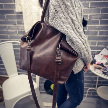 2017 women's handbag big bags fashion women's brief handbag vintage messenger bag
