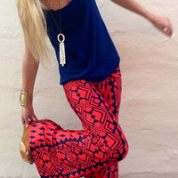 Crimson Tribal Exuma Pants