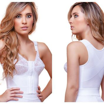 920 Tatiana Front Close Longline with Back Support Bra