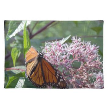 Butterfly with Flowers Placemat