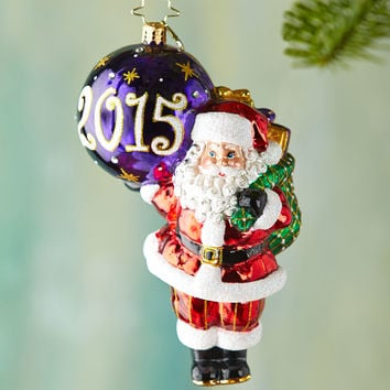 My Favorite Year Christmas Ornament - Christopher Radko