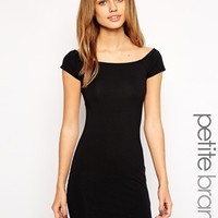 New Look Petite Bardot Bodycon Dress