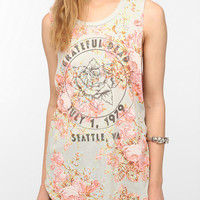 Urban Outfitters - Grateful Dead Floral Muscle Tee