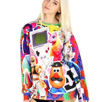 90'S TOYS SWEATER