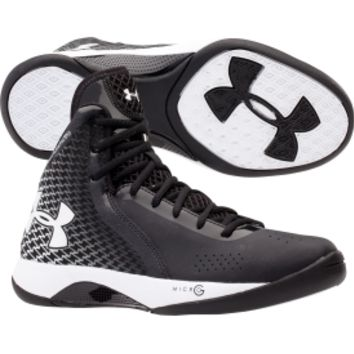 Under Armour Women's Micro G Torch 3 Basketball Shoe - Black/White | DICK'S Sporting Goods