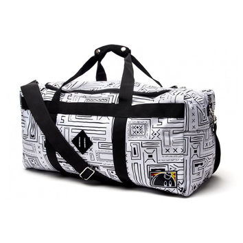 The Hundreds: Retreat Duffle Bag - White Geo
