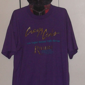 Vintage Crazy Girls Las Vegas t-shirt XL 50/50