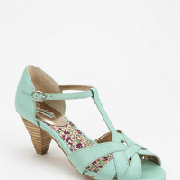 Urban Outfitters - Seychelles Cone Heel T-Strap Sandal