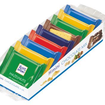 Ritter Sport Assorted Mini Chocolate Mix 5.2 oz.