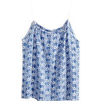 H&M Patterned top £12.99