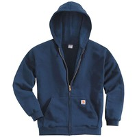 Carhartt Midweight Hooded Zip Front Sweatshirt - Men's