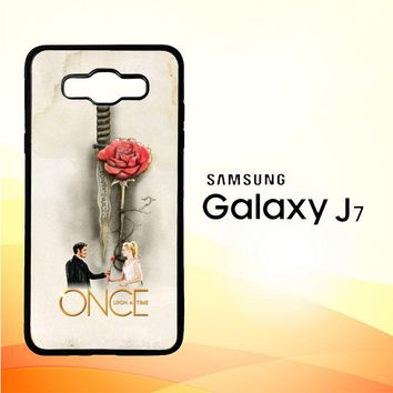 Once Upon A Time Rose X3423 Samsung Galaxy J7 Edition 2015 SM-J700 Case