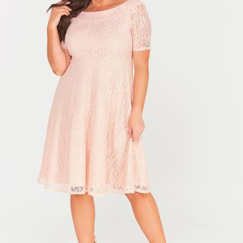 Madalyn Lace Midi Dress