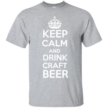 Keep calm Draft Beer Men's or Ladies Tee Shirt