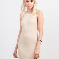 Rib Knit Bodycon Dress
