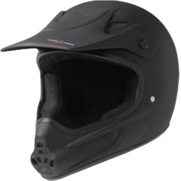 Triple 8 Invader Full Face Helmet Small/Medium Black CPSC/atsm
