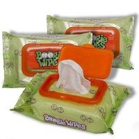 Boogie Wipes Gentle Saline Nose Wipes Original Fresh Scent - Set of 3 (90 Wipes Total) $14.95