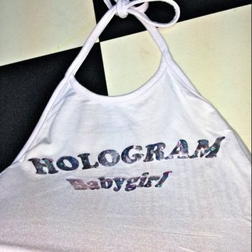 SWEET LORD O'MIGHTY! HOLOGRAM BABYGIRL