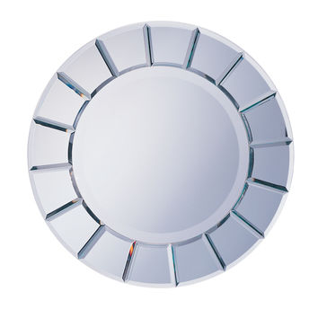 Wildon Home ® Toppenish Sun Shaped Mirror with Beveled Edge