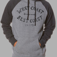 Grey/Charcoal West Coast Best Coast Pullover