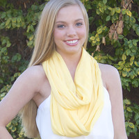 Quick On My Feet Scarf-Sunny Yellow