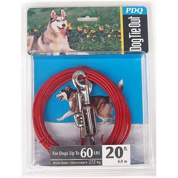 Boss Pet SPG 99 20' Large Dog Cable Tie-Out