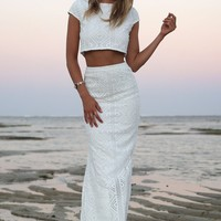 Iris Lace Set | SABO SKIRT