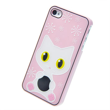 KITTY PINK IPHONE 4/4S CASE