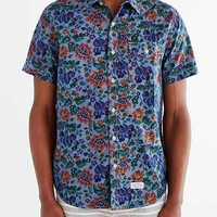 CPO Chambray Painterly Floral Button-Down Shirt