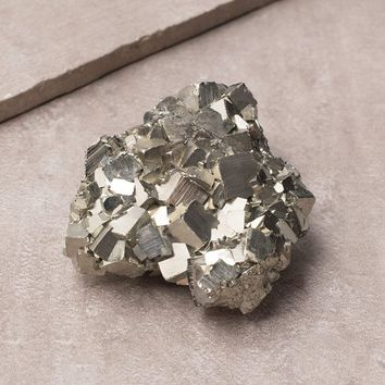 Pyrite Crystal Cluster - One of a Kind