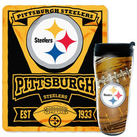 Pittsburgh Steelers NFL Mug 'N Snug Set