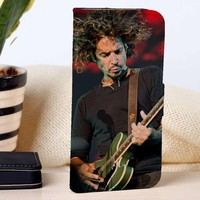 Chris Cornell | Rock Singer | Music | custom wallet case for iphone 4/4s 5 5s 5c 6 6plus case and samsung galaxy s3 s4 s5 s6 case