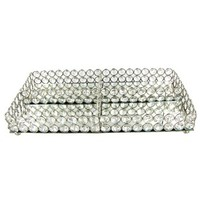 Clear Crystal Sectioned Tray | Shop Hobby Lobby