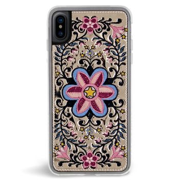 Victory Embroidered iPhone X Case