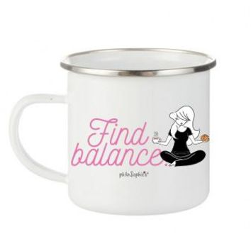 philoSophie's Find Balance Coffee & Cookies Camp Cup