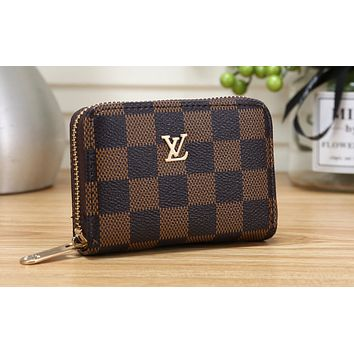 LV Fashion Hot Selling Lady's Printed Wallet