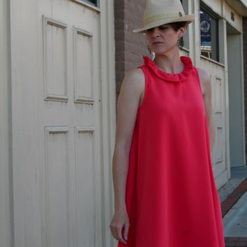Coral Bow Dress
