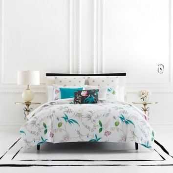 kate spade new york trellis bloom duvet cover & sham set | Nordstrom