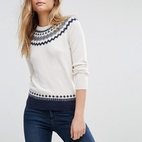 Jack Wills Fairlise Knit Sweater at asos.com
