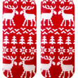 Ugly Sweater Moose Ankle Socks