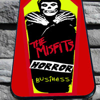 the misfits horror business for iPhone 4/4s, iPhone 5/5S/5C/6, Samsung S3/S4/S5 Unique Case *76*